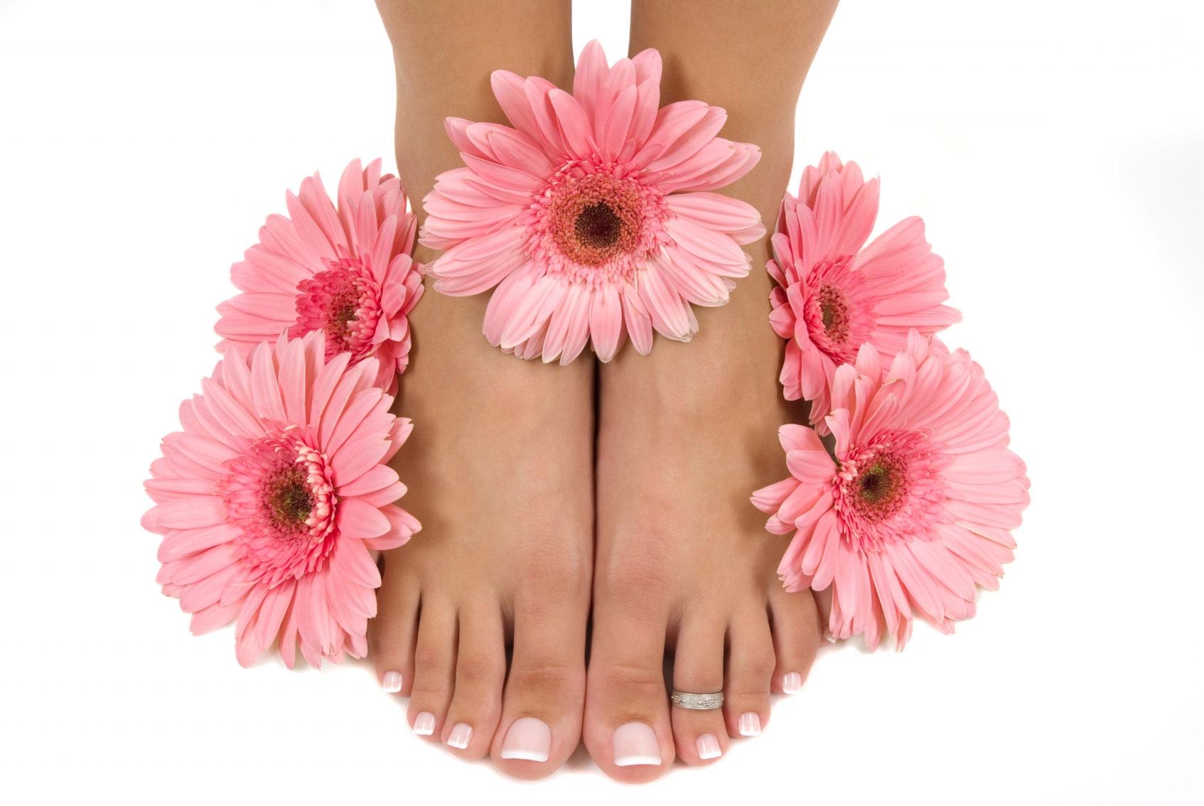 Pleje af fødder